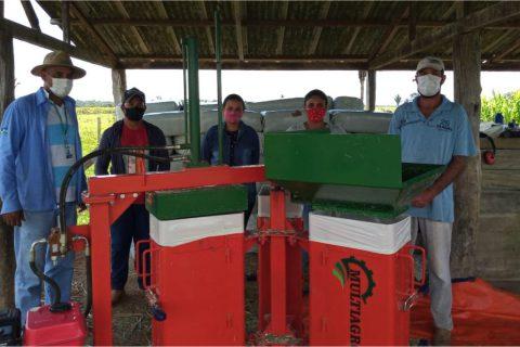 Pioneiro em silos enfardados no Projeto de Assentamento Santa Rita, em Rondônia, produtor vê oportunidade para aumento de renda familiar