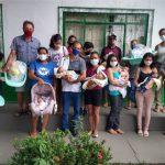 """Famílias rurais de Ji-Paraná são beneficiadas com kit do programa """"Mamãe Cheguei"""""""